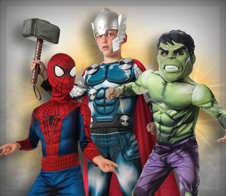 Déguisements de Super-héros pour enfants