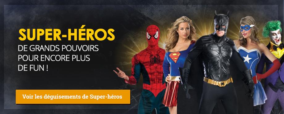 Déguisements Super-héros