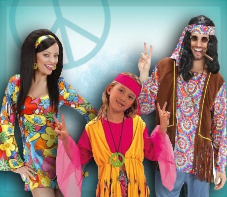 Déguisements Hippies