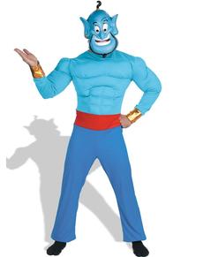 Costume de Génie de la lampe magique d'Aladdin