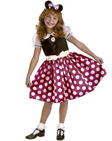 Costume de Minnie Mouse pour fille