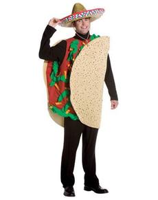 Costume de tacos mexicain