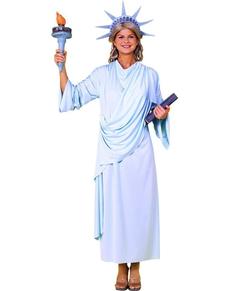 Déguisement de Statue de la Liberté pour femme