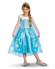 Costume d'Elsa La Reine des Neiges Prestige pour enfant