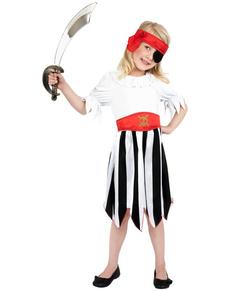 Déguisement de fille pirate pour petite fille