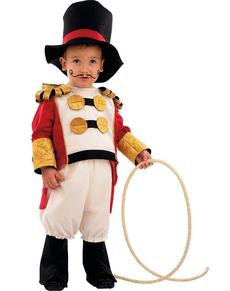 Costume de dresseur de cirque bébé