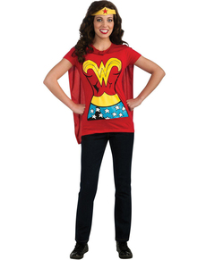 Kit Costume Wonder Woman pour femme