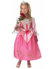 Costume d'Aurore anniversaire pour fille