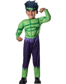 Costume Hulk Avengers Rassemblement pour bébé