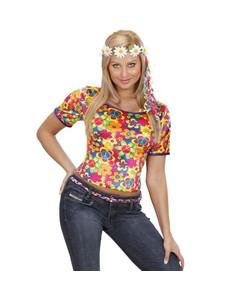 T-shirt hippie femme
