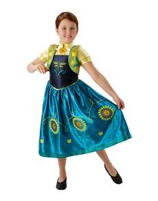Costume Anna La Reine des Neiges- Une fête givrée fille