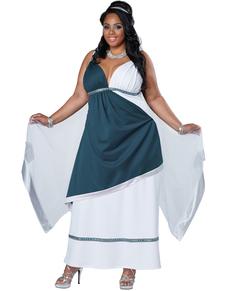 Déguisement de romaine pour femme grande taille
