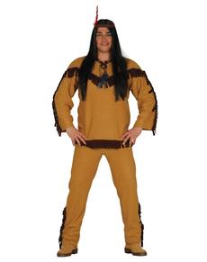Déguisement indien apache homme