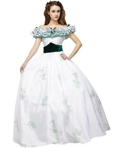 Déguisement élégante princesse Scarlett femme