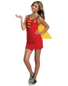 Robe Costume Robin DC Comics adolescente