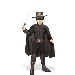 Costume Zorro deluxe garçon