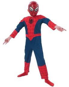 Costume Ultimate Spiderman musclé enfant