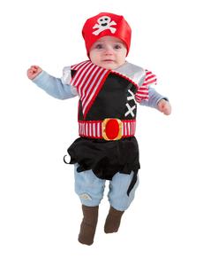 Bavoir pirate bébé