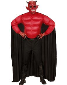 Déguisement diable musclé homme