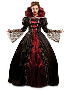 Déguisement vampire puissante femme