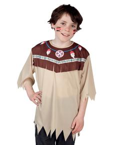 T-shirt indien sauvage enfant