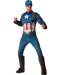 Costume Captain America Civil War deluxe homme