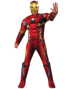 Costume Iron Mam Captain America Civil War deluxehomme