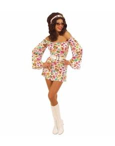 Déguisement hippie glamour femme