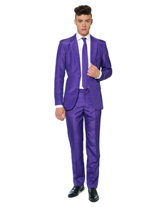 Costume Solid Purple Suitmeister