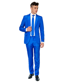 Costume Solid Blue Suitmeister