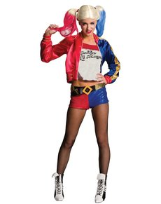 Costume Harley Quinn Suicide Squad femme