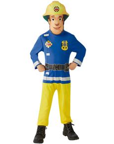 Costume Sam le Pompier classic enfant