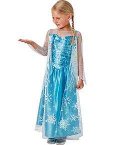 Costume Elsa La Reine des Neiges Frozen pour fille