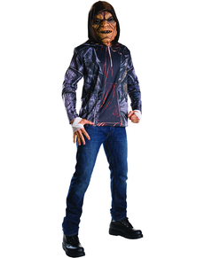 Kit costume Killer Croc Suicide Squad homme